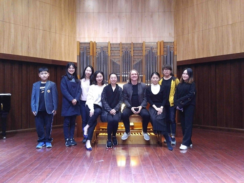 01 Christoph, Teachers, Students at Shanghai Conservatory of Music