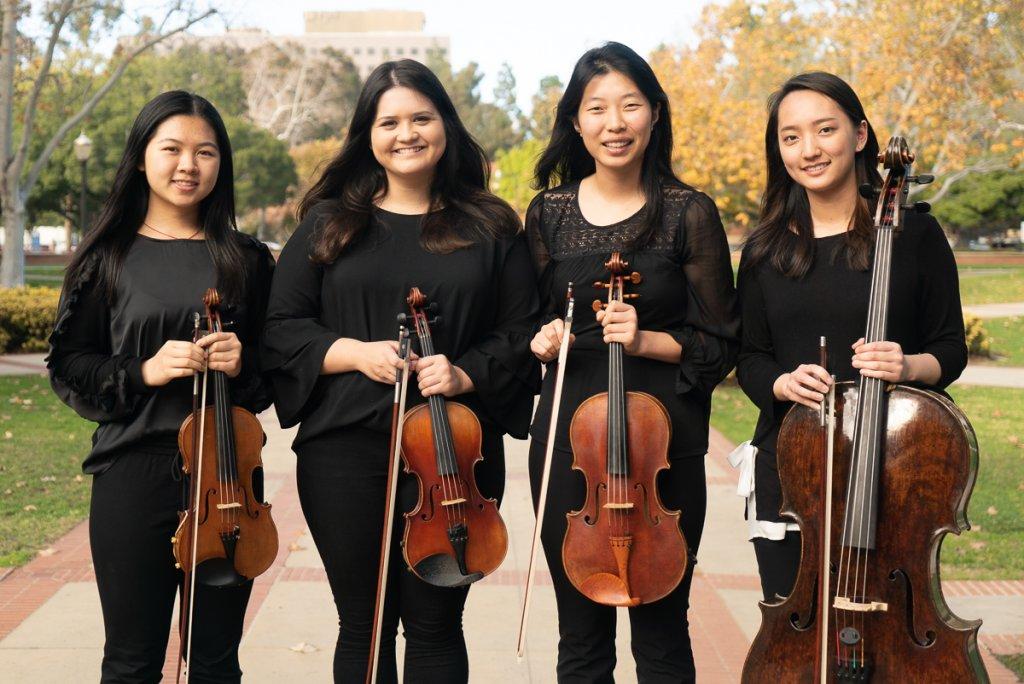 Gluck String Quartets - The UCLA Herb Alpert School of Music