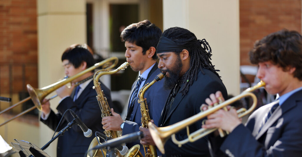 Herbie Hancock Institute of Jazz Performance at UCLA performs at the 2017 Commencement Ceremony
