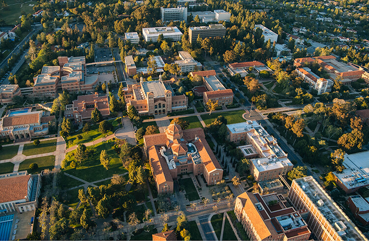 UCLA Campus from the air